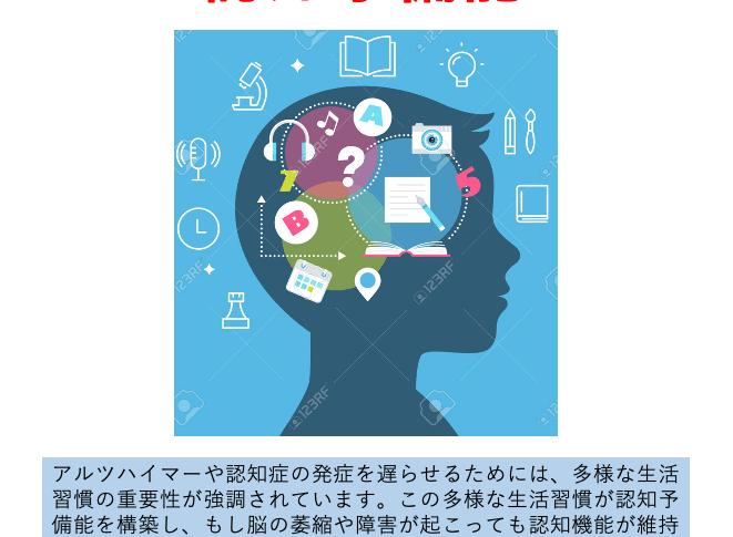 認知予備脳