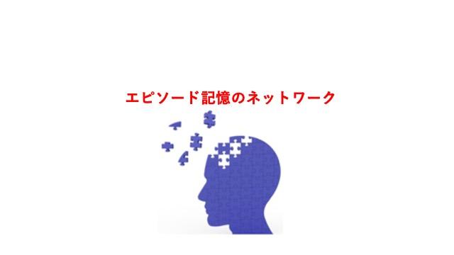 エピソード記憶のネットワーク