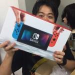 【Nintendoswitch】やっと我が元に!!!!!!