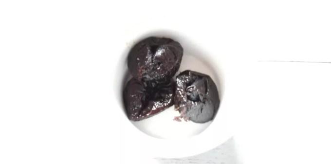 食材宅配コープデリで買ったプルーン 中身の画像