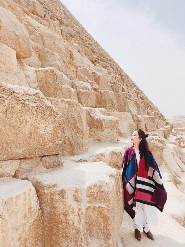 Bộ ảnh du lịch Ai Cập của cô bạn xinh đẹp: Xem xong sẽ thấy rất đáng để ước mơ ghé thăm một lần - Ảnh 3.