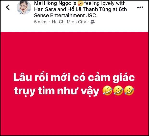 """Han Sara và Tùng Maru (Uni5) tiết lộ đã thành đôi sau thời gian được """"ship"""" nhiệt tình, sẵn sàng hôn má chứng minh tình cảm - Ảnh 3."""