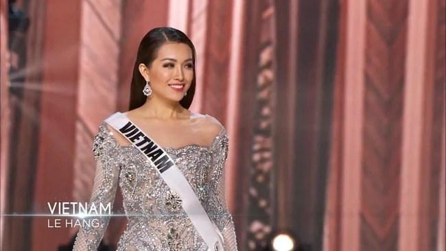 Những hình ảnh ấn tượng của Lệ Hằng trong đêm thi bán kết Hoa hậu Hoàn vũ 2016 - Ảnh 8.