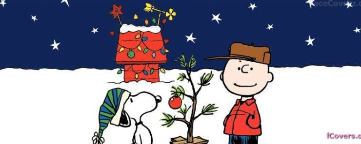 Ken's Ginormous Hallerday Party - Charlie Brown Christmas Header
