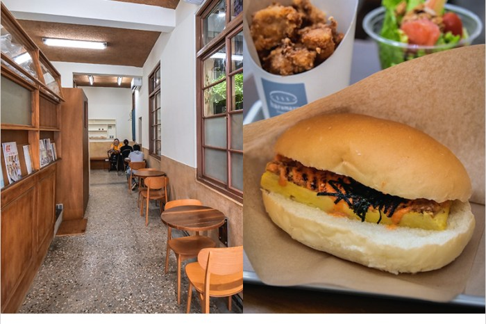台中北區早餐 | 春丸餐包製作所(東市店),中國醫商圈好吃餐包,懷舊老宅裝潢很有Fu~