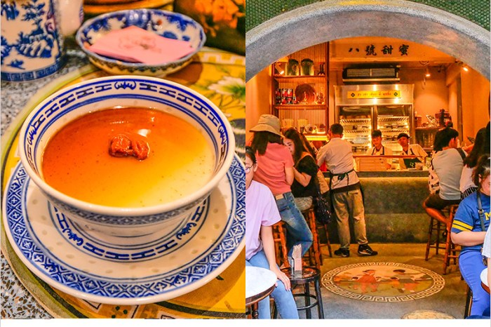 泰國曼谷甜點店   八號甜蜜Ba Hao Tian Mi-中國城超人氣網美甜點店,枸杞布丁必點,甜滋滋的中式甜點。