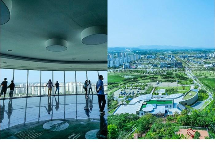 韓國全羅南道景點 | 羅州BITGARAM展望台-搭乘單軌列車欣賞羅州市景,100公尺石滑梯挑戰你對高度與速度的極限。