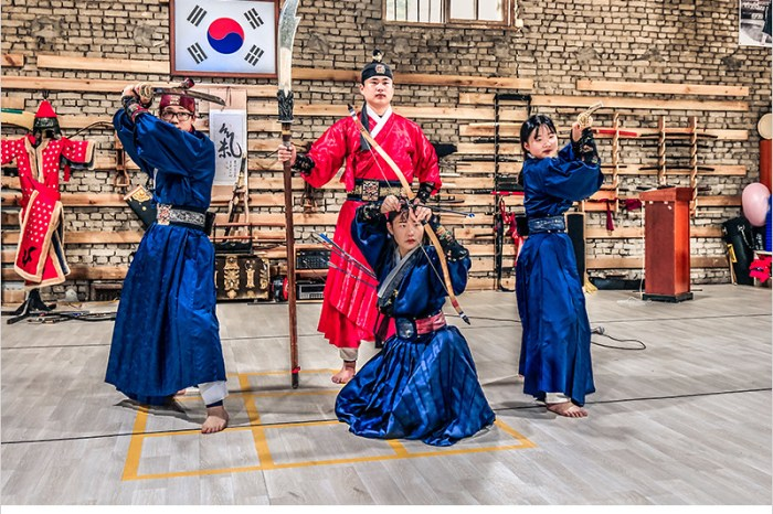 韓國全羅南道景點 | 靈巖氣武藝道場-體驗韓式古裝服飾,欣賞霸氣的武術表演,好看又有趣的韓國體驗秀。