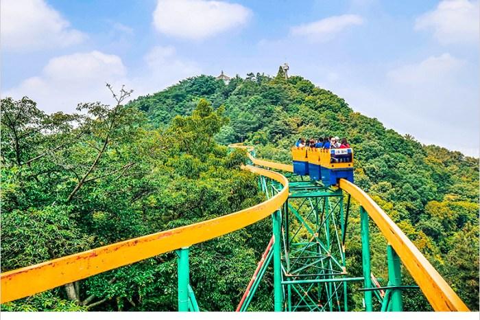 韓國全羅南道景點 | 光州無等山國立公園,吊椅式纜車&單軌列車刺激又有趣,來光州不能錯過的設施及旅遊景點。
