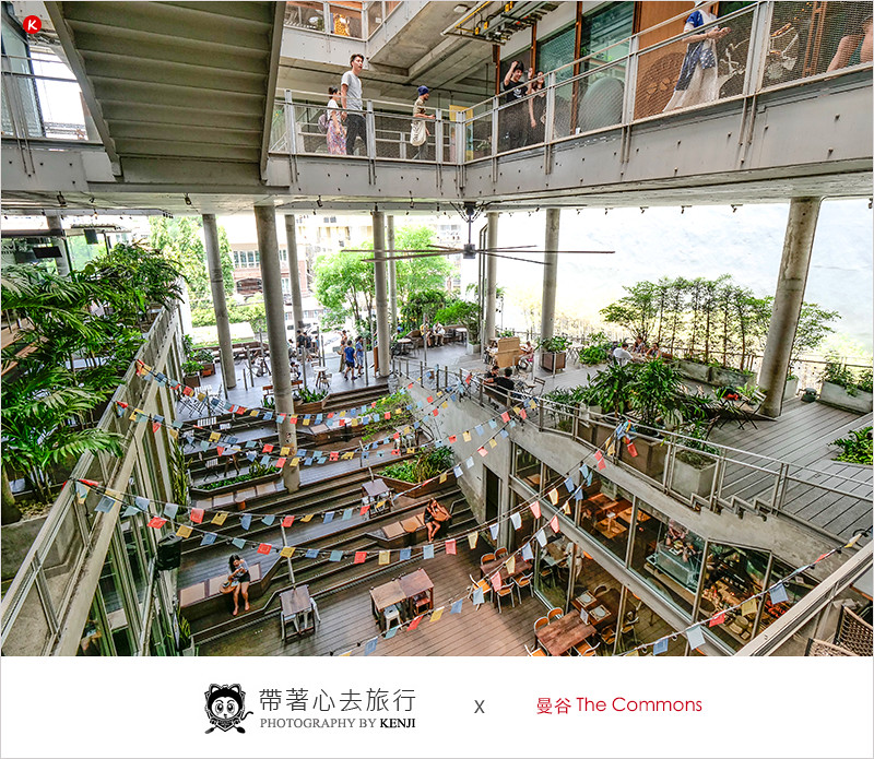 泰國曼谷東羅區景點   The Commons (Thong Lo)-曼谷文青派必逛的複合式商場,ROAST高人氣早午餐廳也進駐在此。
