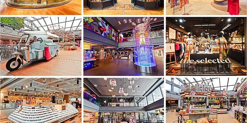 泰國曼谷購物百貨 | Siam center(BTS Siam站)-結合時尚潮流好好逛的百貨公司、大食代美食街平價又好吃。