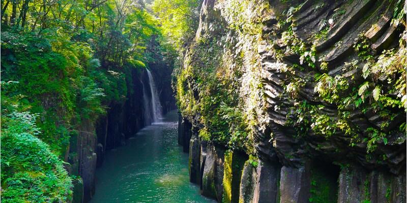 2016日本九州旅遊   宮崎 高千穗峽。日本宮崎神話之鄉,感受峽谷溪流間的大自然魅力。