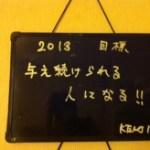 Vol.208 2013年の決意