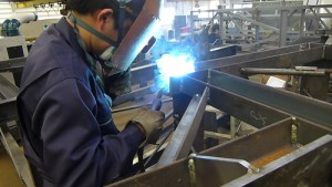 semi-automatic welding