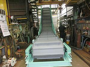 Chain apron conveyer 1