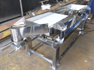 Vibration conveyor 1