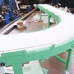 curved modular belt conveyor 3.1.2018