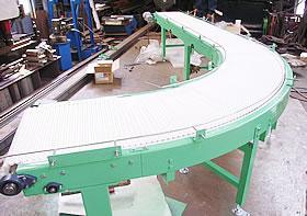 cirve modular belt conveyor