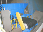 hopper belt conveyor