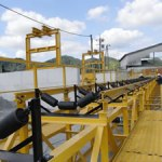 hanging typed carrier roller belt conveyor kenki 8/10/2018
