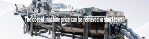 KENKI DRYER sludge dryer The cost of machine can be retrieved in short term.