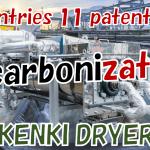 Decarbonization sludge dryer slurry dryer waste dryer KENKI DRYER 21082021