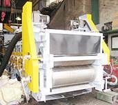 熱源蒸気のみ 連続ベルトコンベヤ式汚泥乾燥機 2号機