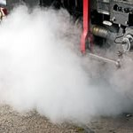 蒸気機関車 蒸気 2017.6.21
