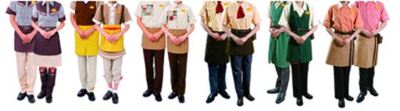 びっくりドンキー制服
