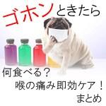 風邪のひきはじめでのどが痛い・市販の消化の良い食べ物・飲み物で治す方法まとめ!