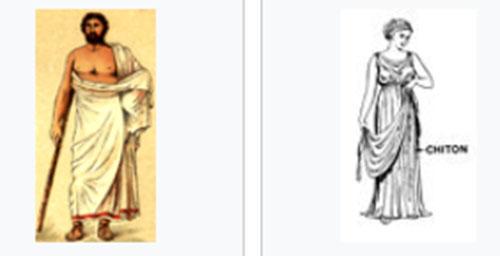 古代の洋服