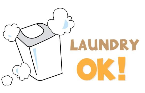 โลโก้ซักเครื่องซักผ้าได้