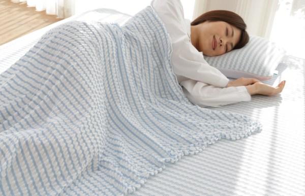 ผู้หญิงห่มผ้าห่มเย็น Salaf coolket