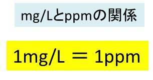 ppmを濃度mg/Lに変換(換算)する方法 計算問題を解いてみよう【演習問題】