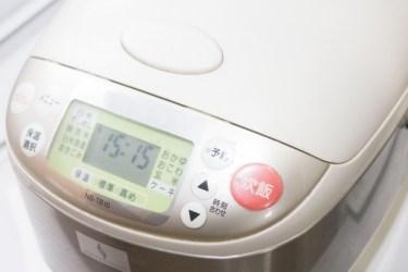 炊飯器で炊いたご飯を常温保存や保温機能を使うと何日もつ?