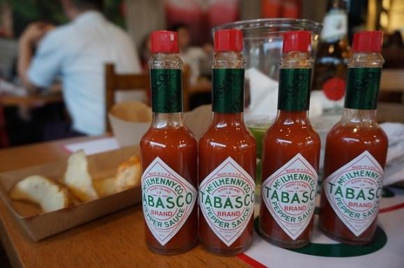 タバスコの料理の使い方や種類によりタバスコの緑の使い分け