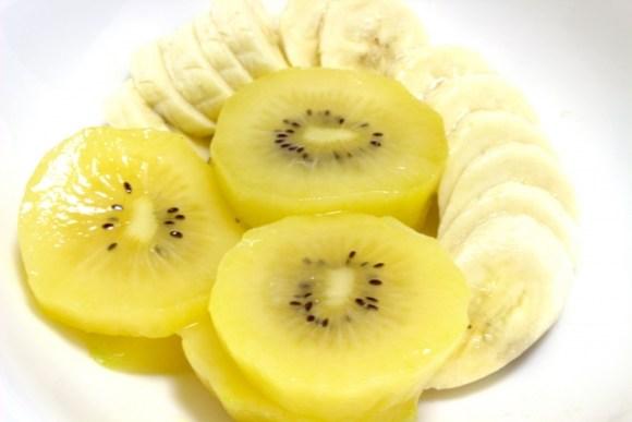 バナナとキウイから考える果物の食べ合わせについて