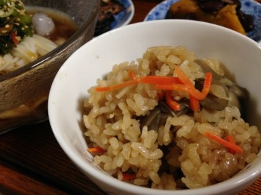 新潟県長岡市中心の地域限定の食べ物「醤油おこわ」の作り方