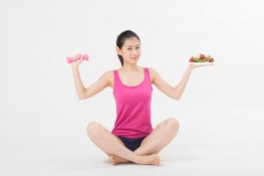 食事改善でダイエットすれば運動は不要?それは大きな間違い