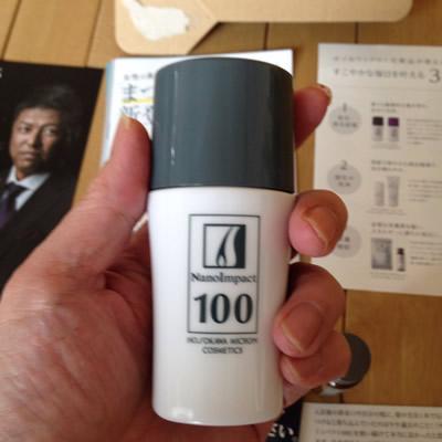 薬用ナノインパクト100のボトル
