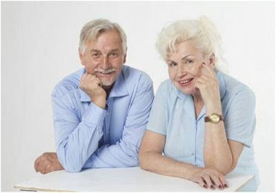 中高年夫婦