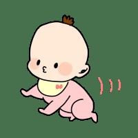 赤ちゃんの毛玉