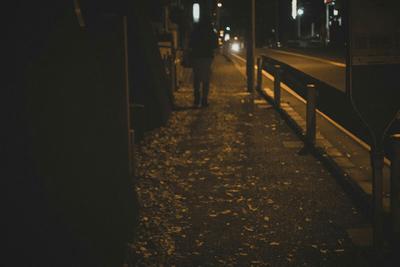 真夜中の家路
