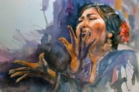 Flamenco emotional intensity
