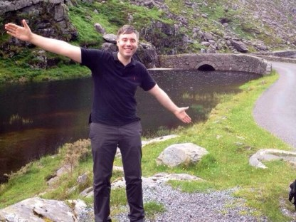 Johnny's first trip to The Gap of Dunloe.