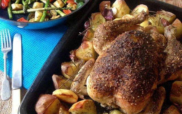 Lemon and Za'atar Roast Chicken