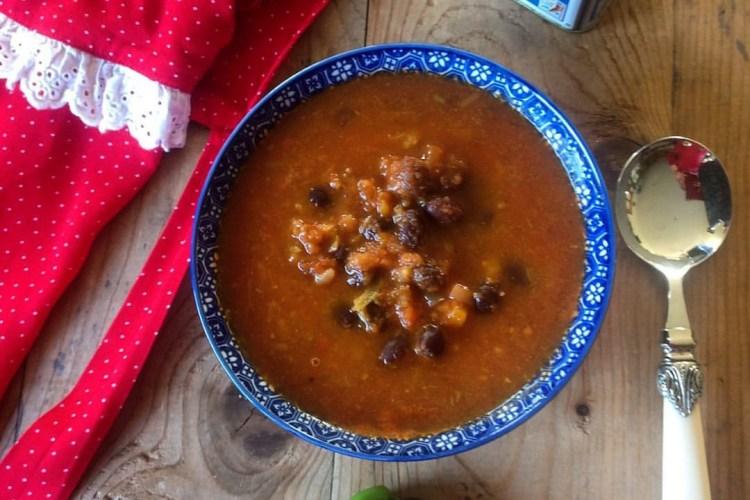 Mexican Bean Soup