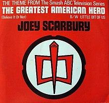 Joey Scarbury -  Believe It Or Not