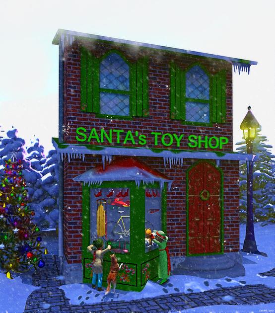 Christmas Window Shopping