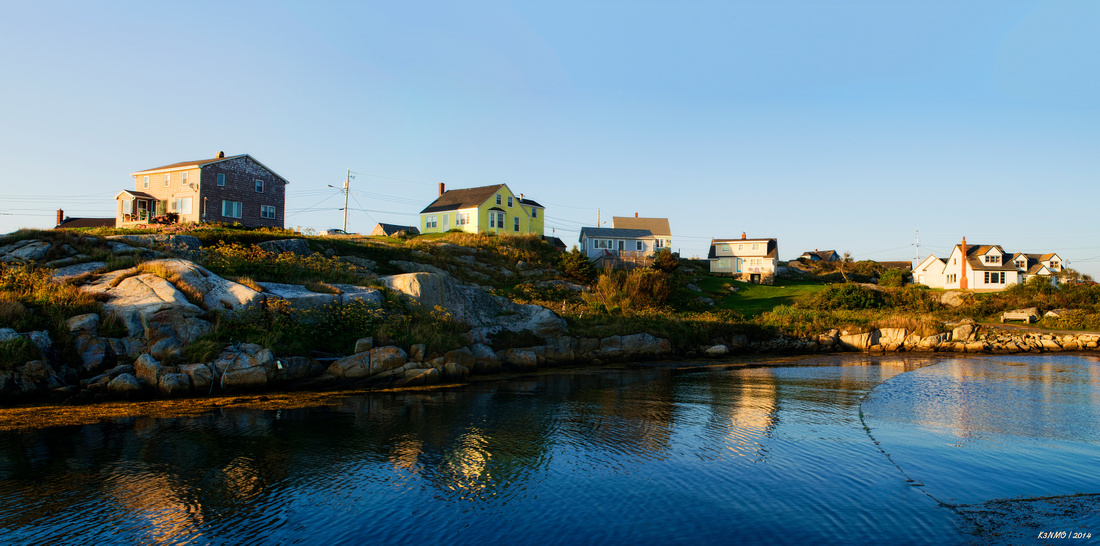 Homes of Peggys Cove